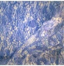 Elasztikus csipke – Kék márvány mintával