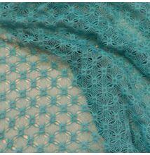 Horgolt csipke – Kék színben