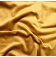 Francia bársony, tükörbársony – Arany sárga színben