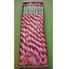 Suncokret hímzőfonal – rózsaszín színben