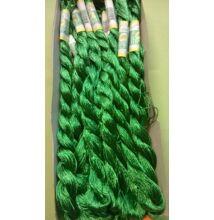 Suncokret hímzőfonal – fűzöld színben