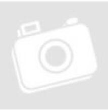 Poliészter jersey – Citromsárga alapon színes virág mintával, bordűrös