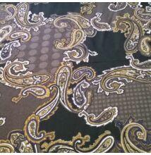 Flokon – Török stílusú amőba mintával, barna árnyalatban