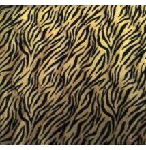 Műszőrme – Tigris mintával, egyszínű