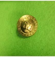 Fém gomb – Arany színű RH felirattal, 15mm