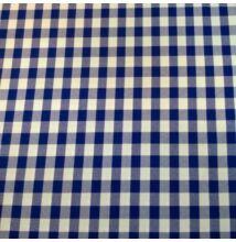 Minimat – Panama szövet, kék kockás mintával