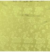 Jacquard 313 – Nagyméretű rózsa mintával, aranysárga színben