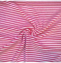 Bébiplüss – Pink-fehér csíkos mintával