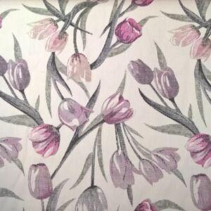 Bútorvászon – Színes tulipán mintával