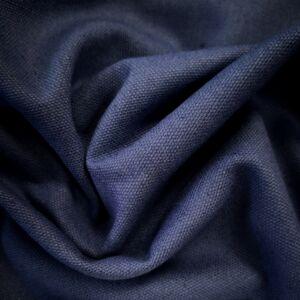 Bútorvászon, canvas – Sötétkék színű üni