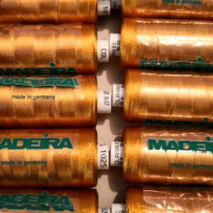 MADEIRA hímzőcérna – arany színben