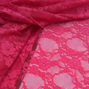 Elasztikus csipke – Pink színben