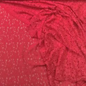 Elasztikus csipke – Piros szatén csipke