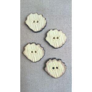 Agancs hatású gomb – Szabálytalan alakú
