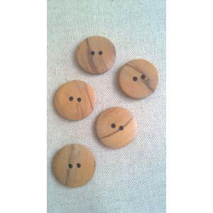 Fa gomb – Fa mintázattal, 40-es