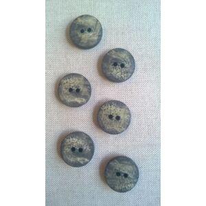 Agancs hatású gomb – Koptatott mintával, 36-os