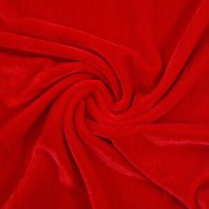 Plüss bársony – Piros színű üni
