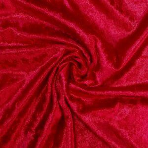 Plüss velúr – Piros színű üni