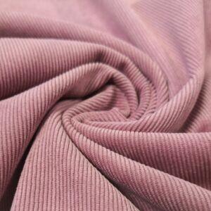 Kordbársony – Rózsaszín színben, elasztikus