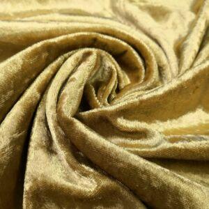Plüss velúr – Arany sárga színű üni