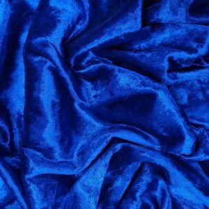 Plüss velúr – Királykék színű üni