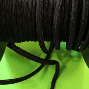Gumikötél – Fekete színben, 6mm
