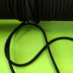 Gumizsinór – Fekete színben, 3mm