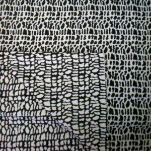 Kétoldalú kabátszövet – Leopárd foltos mintával
