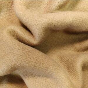 Kétfalas kötött gyapjú textil – Bézs színben