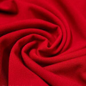 Scuba krepp – Piros színben