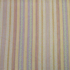 Pamut szövet – Pasztell színű csíkos mintával