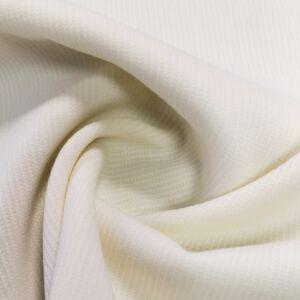 Puplin – Fehér színben, nyomott mintával