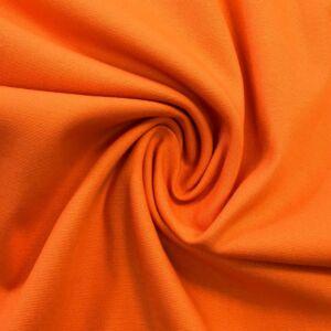 Elasztikus pamutvászon – Narancssárga színű üni