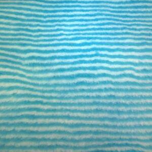 Műszőrme – Kék-fehér csíkos mintával