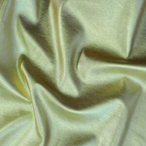 Műbőr – Textilbőr arany színben, metál fényű