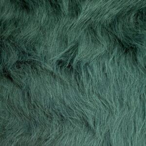 Műszőrme – Türkizkék színben, hosszú szőrű