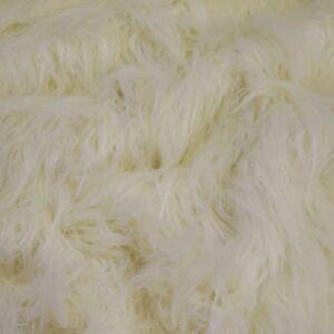 Műszőrme – Fehér színben, extra hosszú szőrű