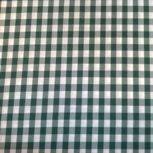 Minimat – Panama szövet, zöld kockás mintával