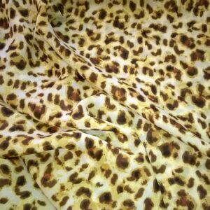 Muszlin – Leopárd mintával