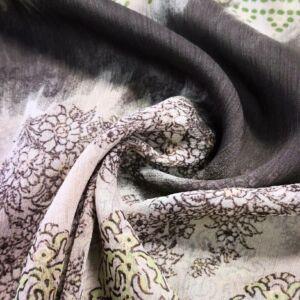 Krepp muszlin – Török stílusú amőba mintával
