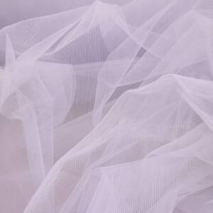 Lágy tüll – Halvány lila színben, extra széles