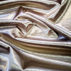 Gyűrt szatén – Bézs színű üni, elasztikus