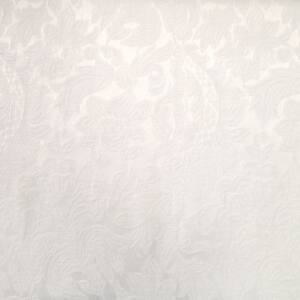 Jacquard 317 – Fehér színű virág mintával