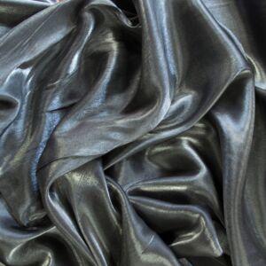 Szatén – Ezüst színben, kétoldalas, szatén