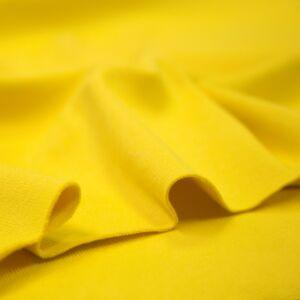 Passzé anyag – Körkötött, citromsárga színben