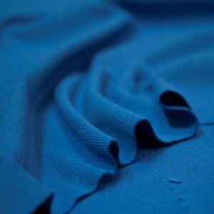 Passzé anyag – Körkötött, középkék színben