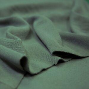 Passzé anyag – Körkötött, olajzöld színben
