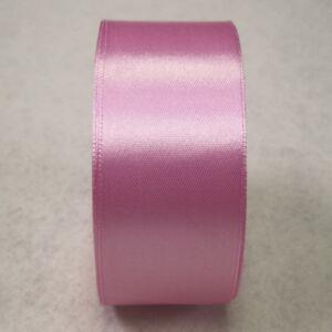 Szatén szalag – Fáradt rózsaszín színben, 4cm
