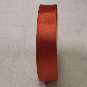 Szatén szalag – Terrakotta színben, 2cm