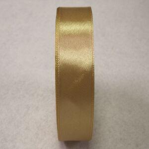 Szatén szalag – Karamell színben, 2cm
